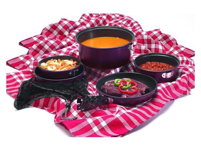 Texsport 7 Piece Kangaroo Cooket Cook Set 13446