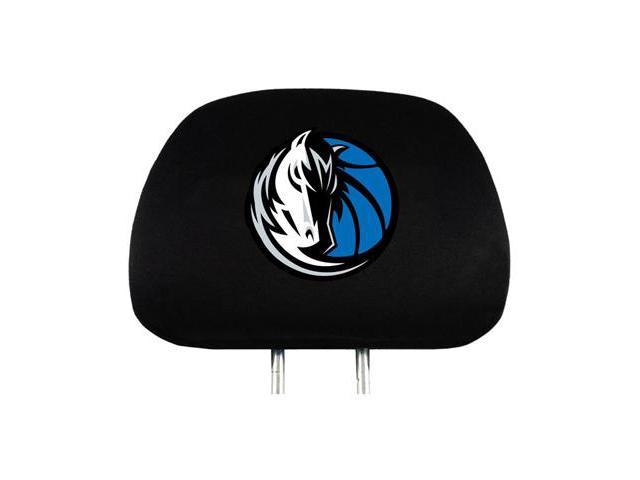 NBA Dallas Mavericks Logo Car Seat Head Rest Covers, Pair