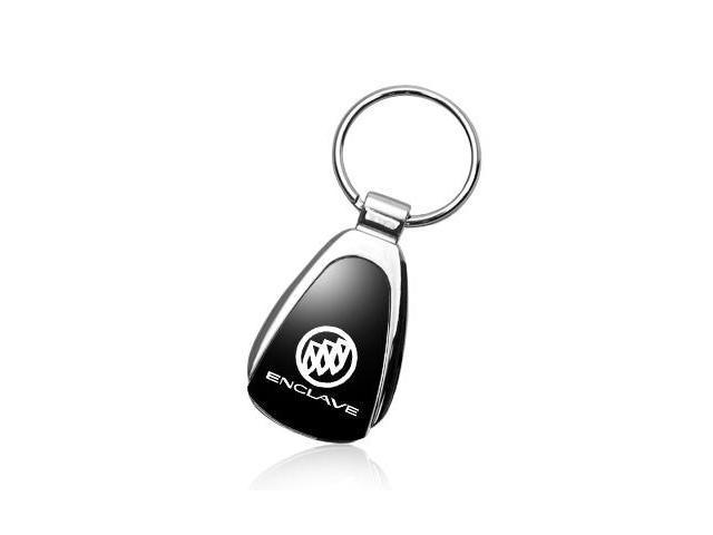 Buick Enclave Black Tear Drop Key Chain