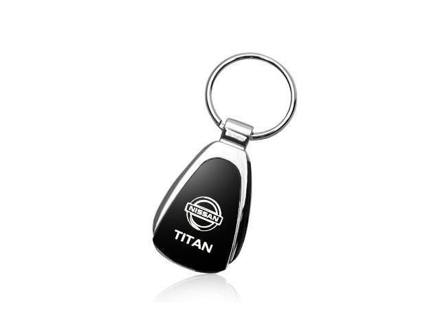Nissan Titan Black Tear Drop Key Chain