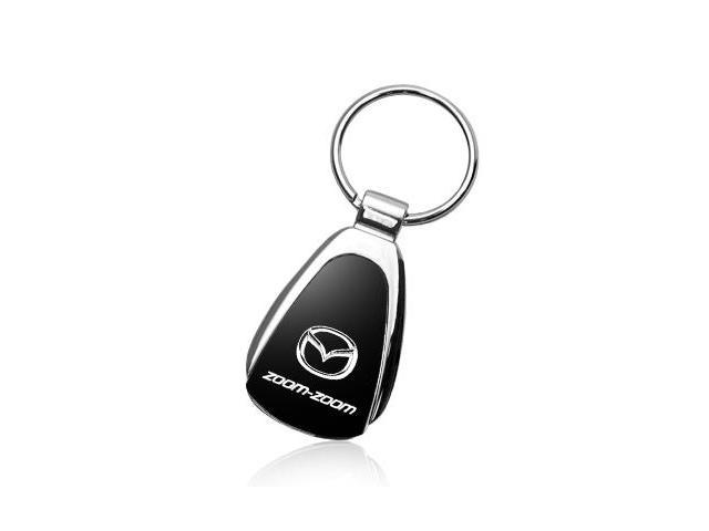 Mazda Zoom Zoom Tear Drop Key Chain