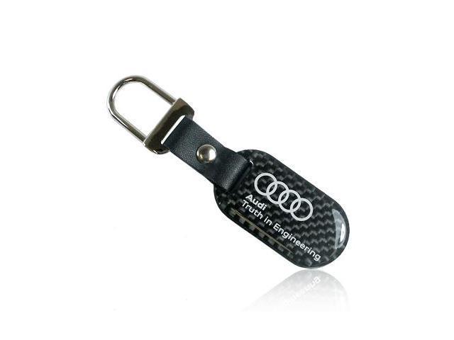 Audi Carbon Fiber Key Chain