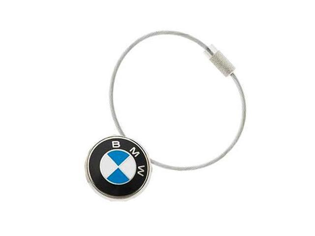 BMW Roundel Cable Key Chain