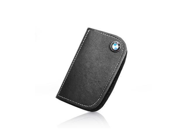 BMW Black Leather Key Case for Large Key