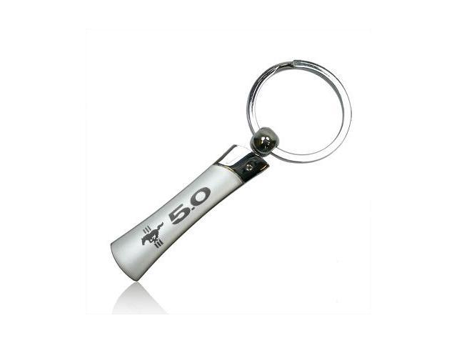 Ford Mustang 5.0 Blade Style Metal Key Chain