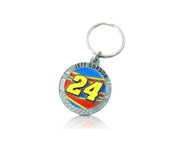 NASCAR Jeff Gordon No. 24 Key Ring Key Chain