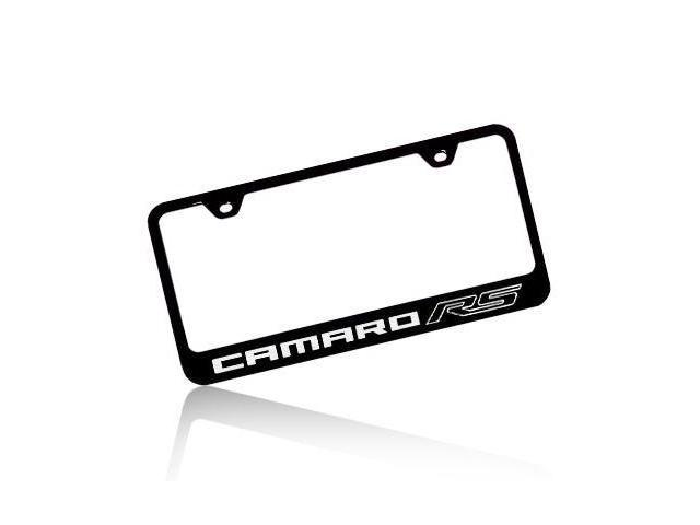 Chevrolet 2010 Camaro RS Black Steel License Plate Frame
