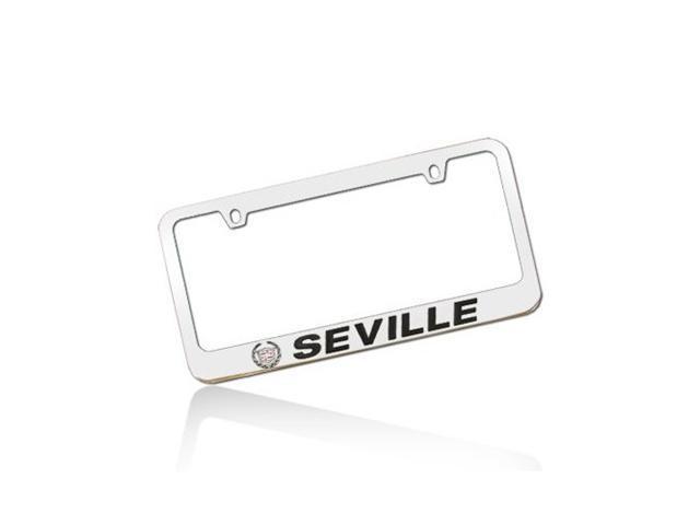 Cadillac Seville Chrome Metal License Frame