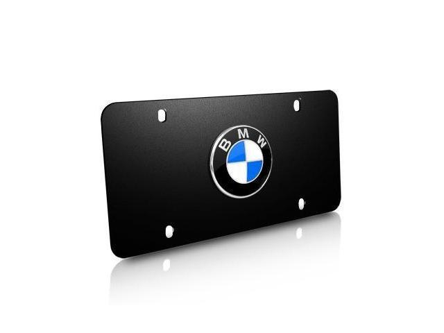 BMW Black Stainless Steel License Plate
