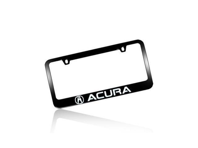 Acura Black Metal License Frame