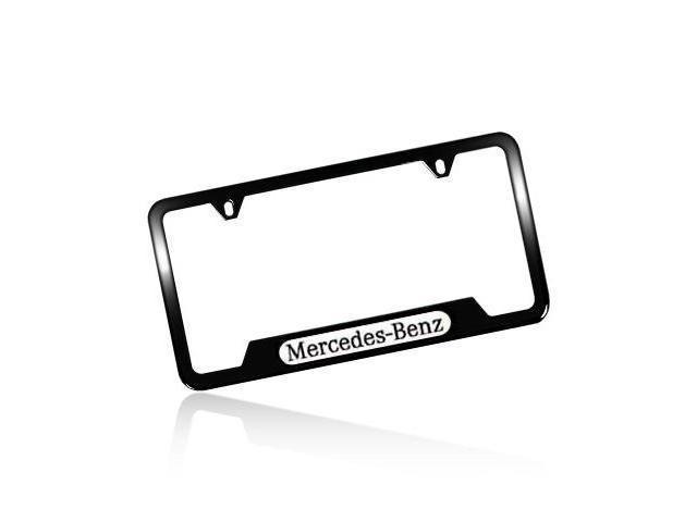 Range rover black license plate frame