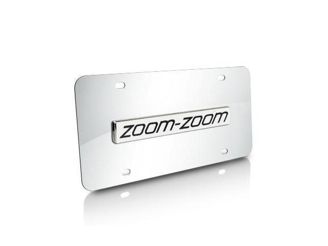 Mazda Zoom-Zoom Chrome License Plate