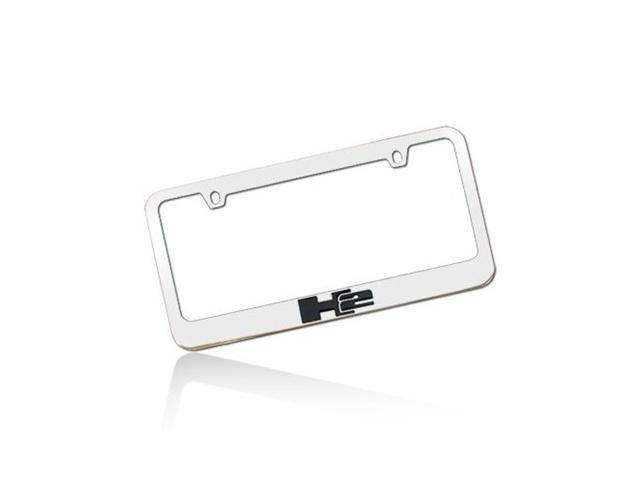 HUMMER H2 Chrome Metal License Frame
