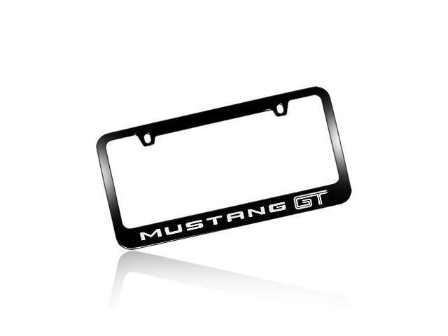 Ford Mustang GT Black Metal License Frame