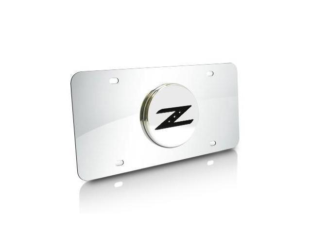 Nissan 350Z Z Logo Chrome Steel License Plate