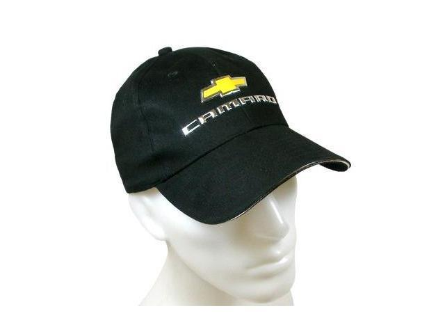 2010 Camaro Gold Logo Liquid Metal Baseball Hat