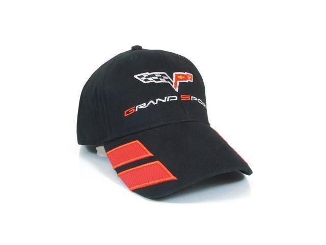 Corvette C6 Grand Sport Black Baseball Cap