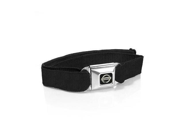 Nissan Logo Seatbelt Buckle Black Strap Belt