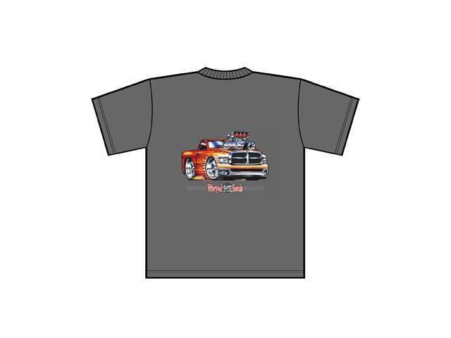 Dodge Ram Warped Heads Tee Shirt Medium