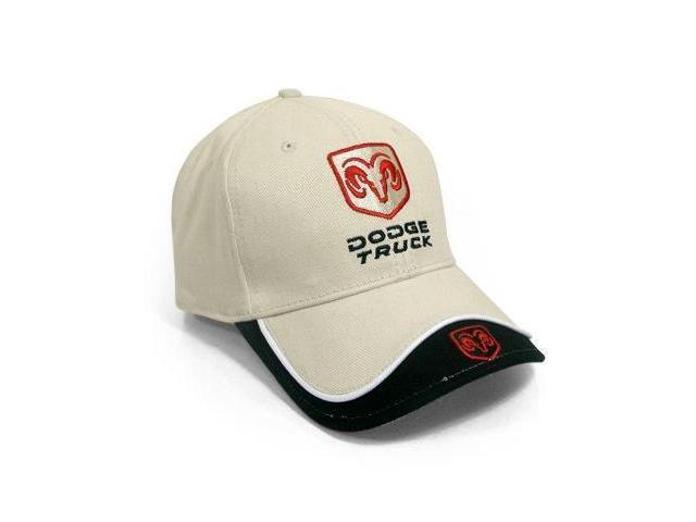 Dodge Truck Beige & Black Baseball Hat