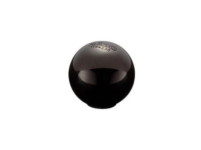 RAZO RA113 Round Black Chrome Manual Shift Knob