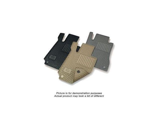 Mercedes Benz C-Class All Weather Rubber Floor Mat Sets, Black