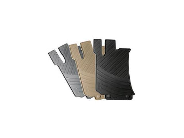 Mercedes-Benz E-class All-Season Rubber Floor Mats, Beige