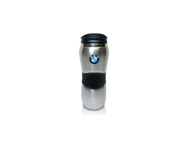 BMW Stainless Steel Brushed Travel Coffee Mug