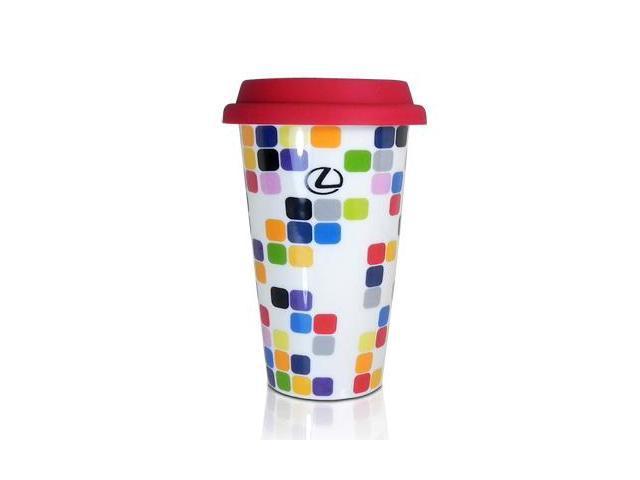 Lexus Color Pixels Go Coffee Cup
