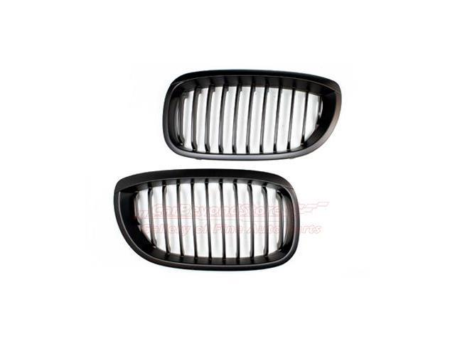 BMW 04-06 E46 3 series Coupe Matte Black Front Grille
