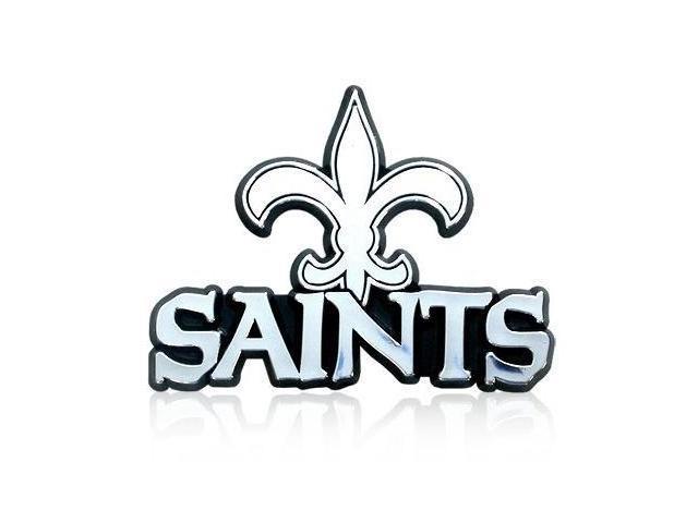 NFL New Orleans Saints Chrome Car Emblem