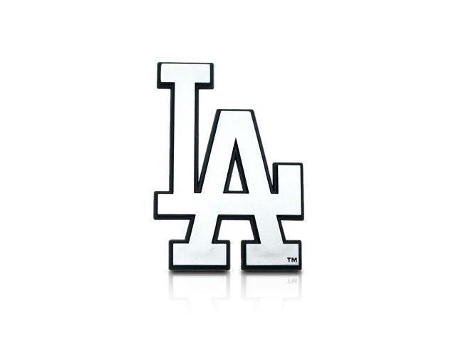 MLB Los Angeles Dodgers Chrome Car Emblem