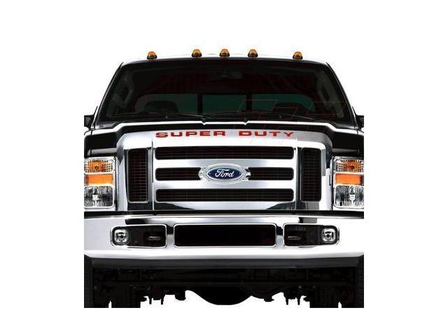 Ford 2008 up Super Duty Front Grille Letter Insert Red