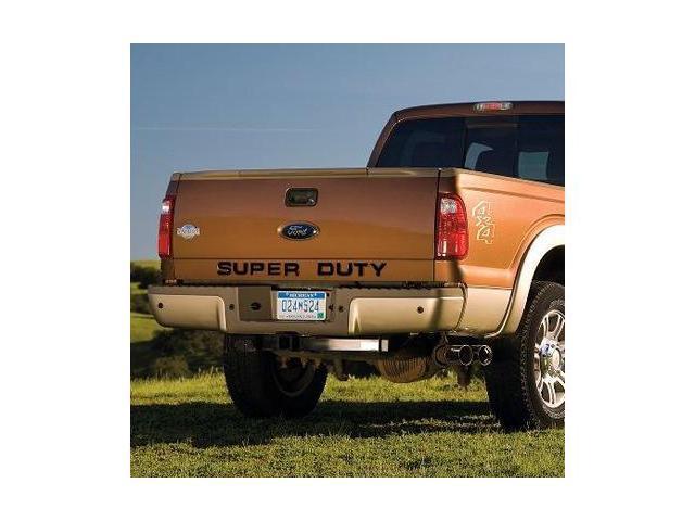 Ford 2008 up Super Duty Trucks Tail Gate Letter Insert Black