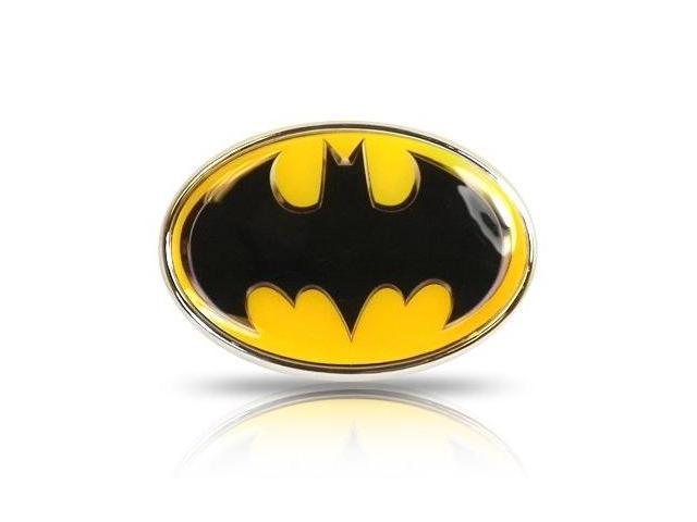 Batman 3D Yellow Color Metal Car Emblem