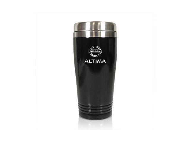 Nissan Altima Black Stainless Steel Travel Mug