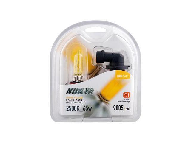 Nokya Hyper Yellow 9005 / HB3 65w Headlight Bulbs
