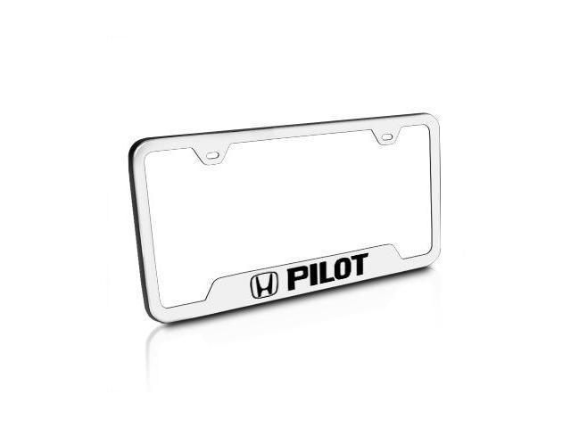 Honda Pilot Brushed Stainless Steel License Plate Frame