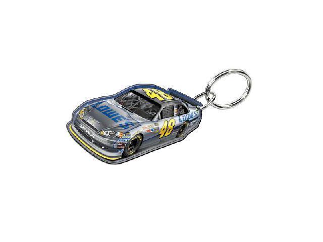 NASCAR Jimmie Johnson Acrylic Key Chain