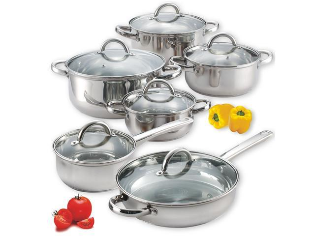 Cook N Home 12pcs Stainless Steel Set