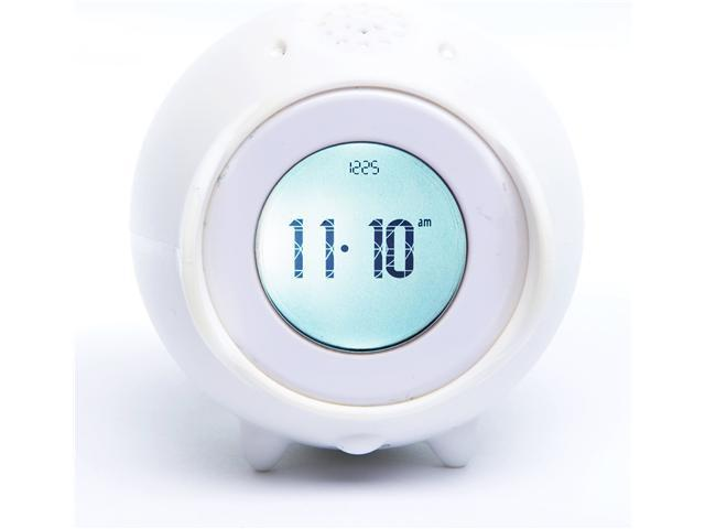 Tocky Runaway Alarm Clock with MP3 - White