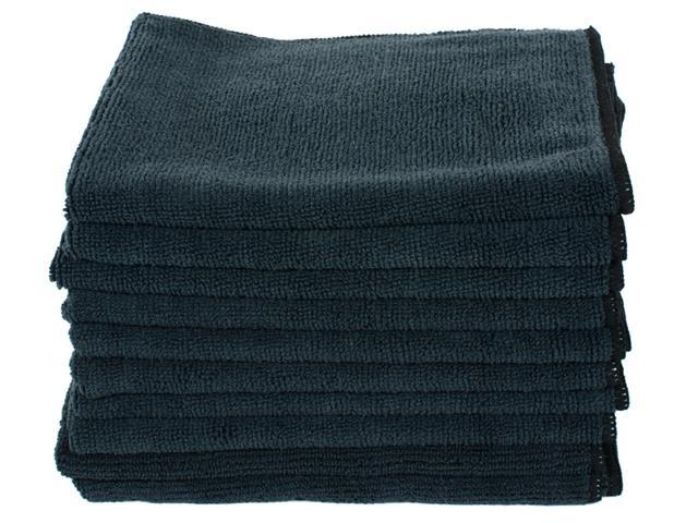Black Microfiber Towels 16