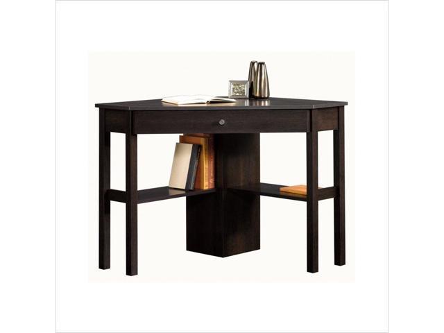 Sauder Beginnings Corner Computer Desk Cnc In Cinnamon