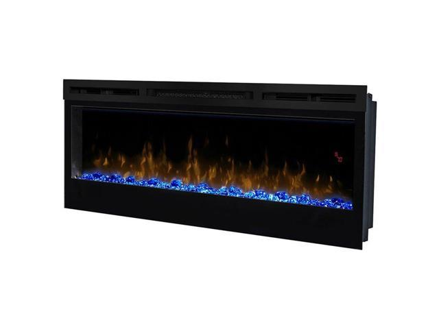 Dimplex Prism 50 Wall Mount Linear Electric Fireplace Insert In Black