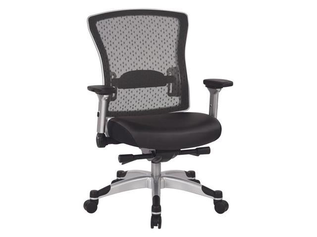 Office Star 317 Series Executive Office Chair in Black-Newegg.com