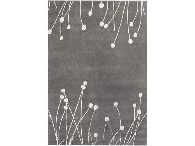 Nuloom SBFG14A-508 Hand Tufted Daza Rug, Grey - 5 ft. x 8 ft.