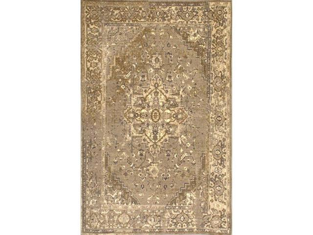 Nuloom MCGZ01D-4106 Vintage Reiko Rug, Natural - 4 ft. 1 in. x 6 ft.