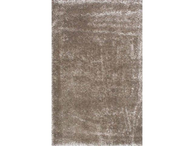 Nuloom GCMS01C-406 Millicent Shaggy Rug, Taupe - 4 ft. x 6 ft.