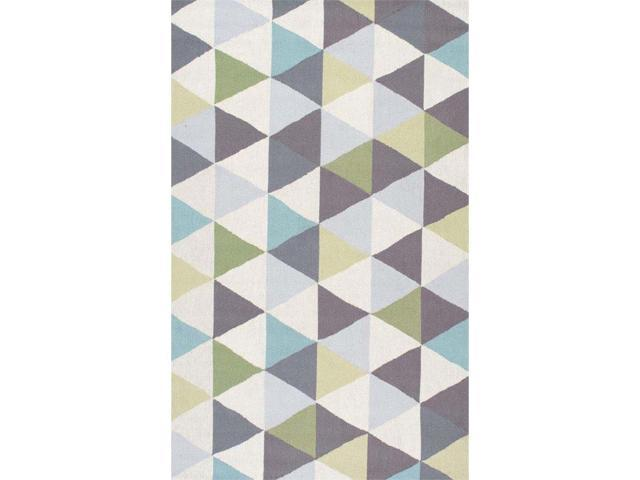 Nuloom 4' x 6' Hand Hooked Anderson Rug in Green