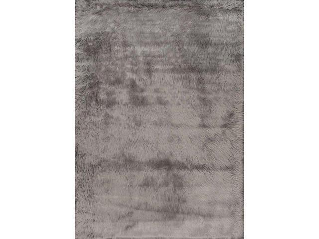 Nuloom BIBL15B-305 Cloud Shag Rug, Grey - 3 ft. x 5 ft.